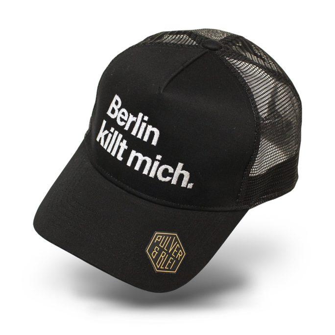 Berlin killt mich. Cap