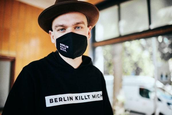 Fabrice Richter Reichelm Berlin killt mich. BKM Tape Hoodie Fabrice