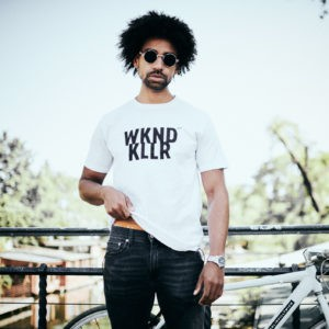 Berlin killt mich. New Stuff WKND KLLR SHIRT WHT